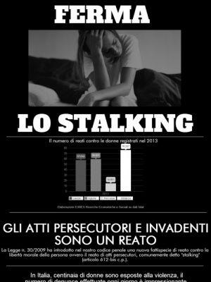 in caso di stalking