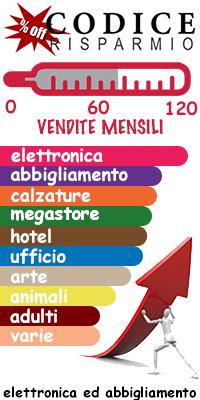 L'andamento del mercato e-commerce in italia diviso per settore by codicerisparmio.it