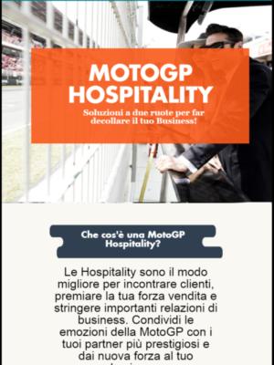 Infografica MotoGP Hospitality